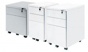 2 Drawer Mobile Ped
