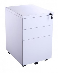 3 Drawer Metal Mobile Ped
