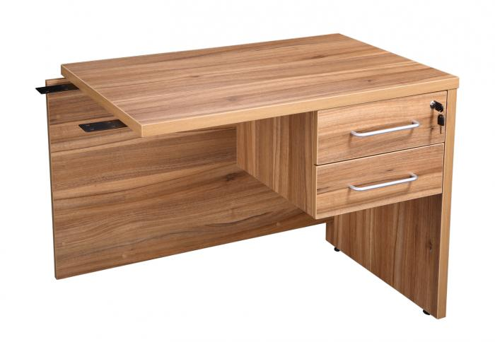 executive desk return unit with fixed drawers office kit