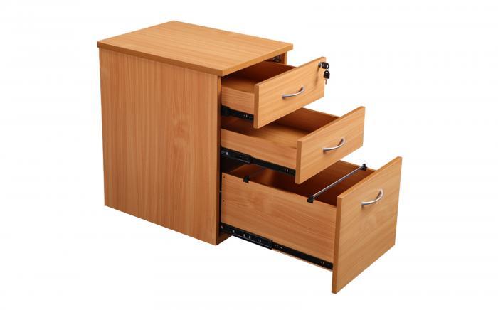 3 Drawer Under Desk Pedestal Office Furniture Office Kit
