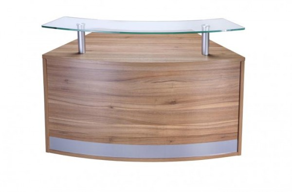 Reception Counter with Shelf