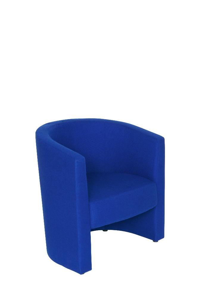 Blue Tub Chair - Reception Seating Office Furniture   Office Kit