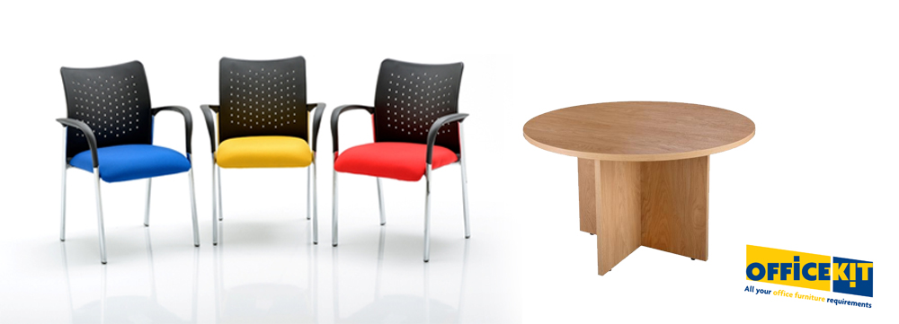 Space saving meeting room furniture